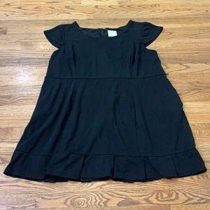 Modcloth Plus Black Dress sz: 4X